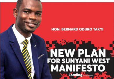 Benard Oduro Takyi Eyes Sunyani West Seat