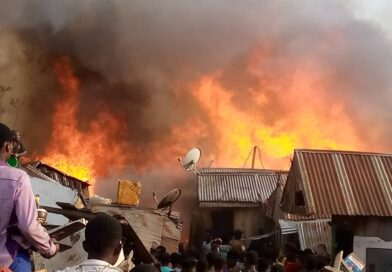 Another Fire Outbreak At Dagombaline In Kumasi
