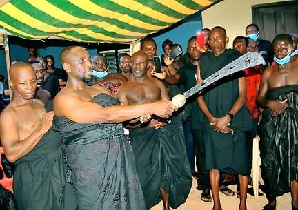 Businessman, Tagor installed as Bekwai Akwamuhene