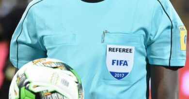 REFEREE ABDUL-LATIF QADIR SUSPENDED FOR THE REST OF THE SEASON