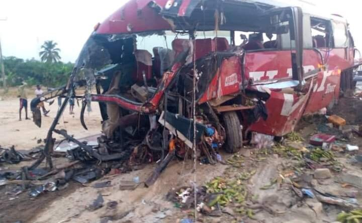 16 Reported Dead, Several Others In Critical Condition After Fatal Crash At Akyem Asafo