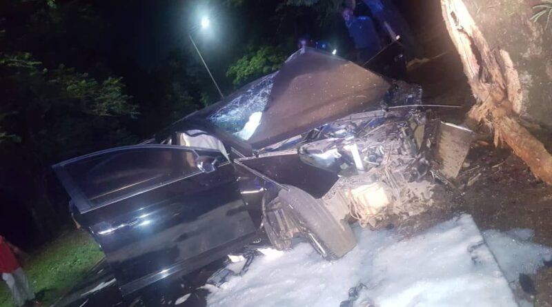 Two KNUST Students Die In Car Crash On Campus, Three Others Injured