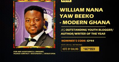 Corporate Blogger Willie Beeko Nominated For Outstanding Youth Blogger Award