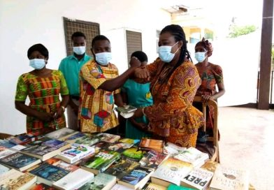 The Immediate Past Ghana's Ambassador To Denmark Donates Books To Schools In Wenchi