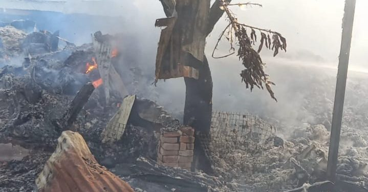 17-Year-Old Boy Burnt To Death In Fire At Asafo