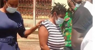 Takoradi: Woman Jailed 6 Years For Faking Kidnaping To Extort GH¢5K From Godfather